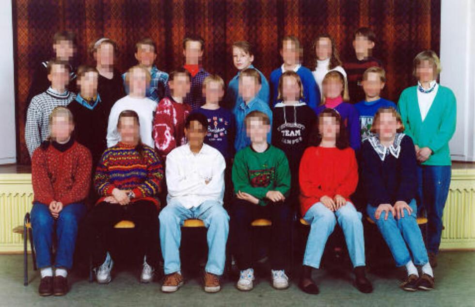 SA HAN TRENTE HVER MORGEN KLOKKA SEKS: Behring Breivik skal ifølge ham selv gått å trening før skoledagen startet. Bildet er fra barneskolen.