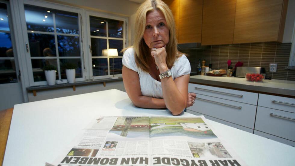 FØLER SEG MEDSKYLDIG: Transportfirmaet Schenker fraktet aluminiumspulver til Anders Behring Breivik. Trafikksjef i firmaet, Agneta Odhe, sier det på en måte kjennes som de er medskyldige. Foto: Expressen