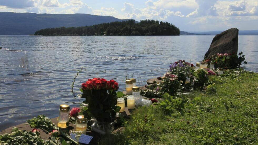 ØDELAGT PARADIS: Utøya var AUFs sommerparadis. Fredag ettermiddag ble øya terroristert av Anders Behring Breiviks massedrap.  Foto: Terje Bendiksby / Scanpix