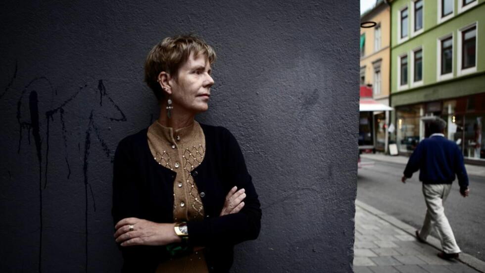 MØRKT: I et intervju med Dagbladet i sommer, sa Karin Fossum at hun aldri har skrevet en så mørk og dyster fortelling som «Jeg kan se i mørket». Foto: Lars Lindqvist / Dagbladet