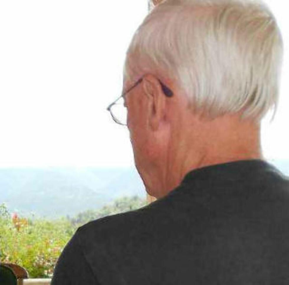 FORFERDET: Terroristens 66 år gamle far.