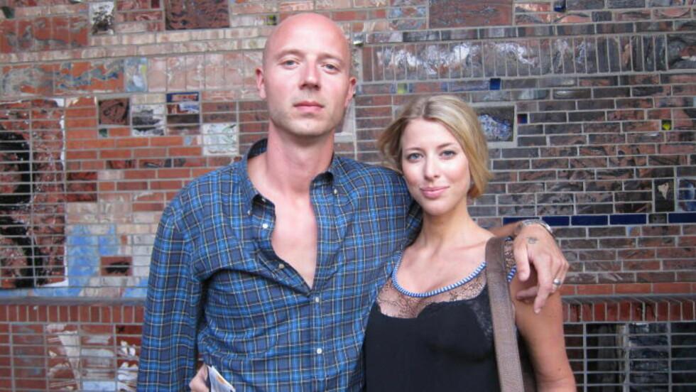 På konsert: Sivert Høyem og hans Helena Brodtkorb