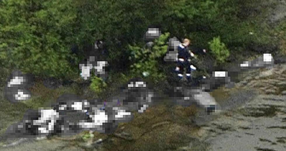 OVERLEVDE MARERITTET: 17-årige Anzor Djoukaev ble mistenkt for å ha samarbeidet med Anders Behring Breivik. Han ble holdt fanget til dagen etter. Foto:  REUTERS/Marius Arnesen/NRK/Scanpix