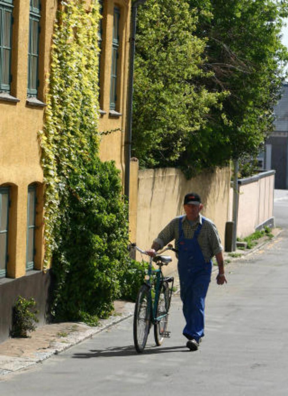 SOMMERSTED: De fleste som besøker Bornholm reiser om sommeren.