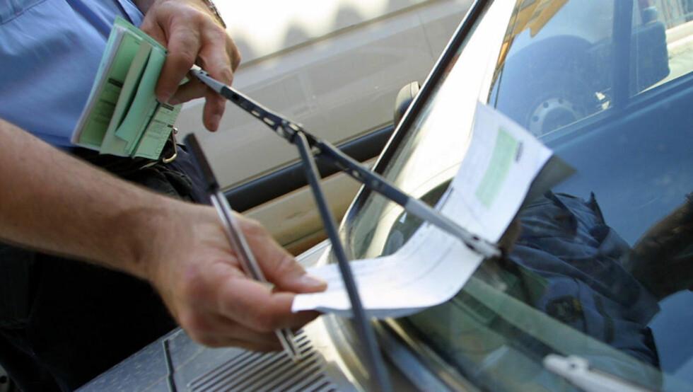 MANGE FEIL:  Rundt 30 prosent får medhold når de klager på parkeringsbøtene. Illustrasjonsfoto: Colourbox.no