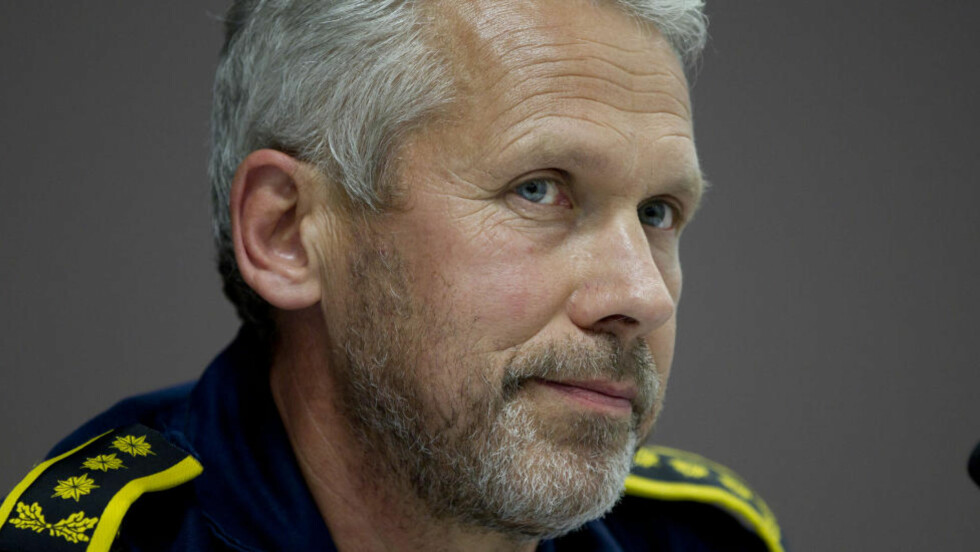 LEDER FOR BEREDSKAPSTROPPEN: Anders Snortheimsmoen. Foto: Morten Holm/SCANPIX