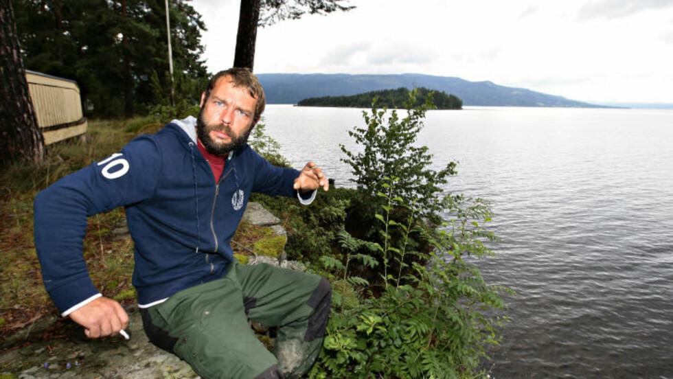 INVITERT: Helten Marcel Gleffe reddet 20-30 ungdommer fra Utøya. Han ble invitert til minneseremonien og satte stor pris på det. Foto Arnt E. Folvik/Dagbladet