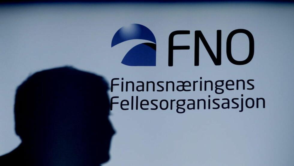 IKKE FORNØYD: Finansnæringens Fellesorganisasjon er misfornøyde med antallet svindler. Foto: Stian Lysberg Solum / SCANPIX