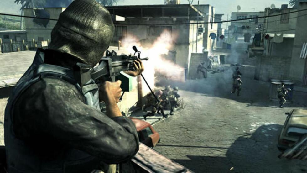 SPILTE OGSÅ DETTE SPILLET: - Jeg ser mer enn noe annet på Modern Warfare 2 som en del av min simulasjonstrening. Jeg har likevel lært meg å elske det og spesielt multiplayerdelen. Man kan gjøre en mer eller mindre fullstendig simulering av faktiske operasjoner, skrev Anders Behring Breivik om spillet, som simulerer realistisk krigføring. Foto: AFP