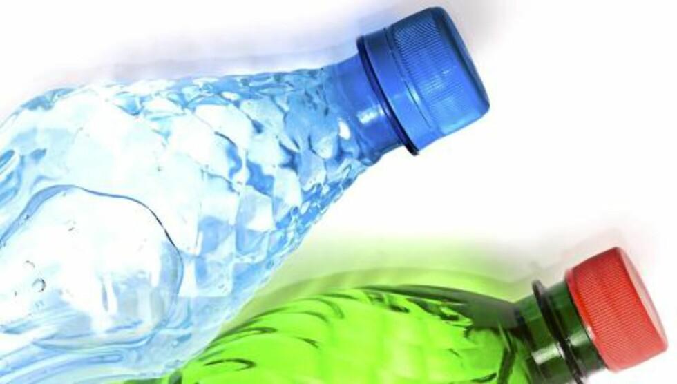 POPULÆRT: Vann på flaske er populært, og salget har økt kraftig de siste årene. Illustrasjonsfoto: Colourbox.no