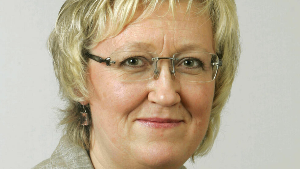 STERKT KRITISK:  Elisabeth Aspaker (H) spør om PST burde hatt en annen sjef. Foto: Knut Falch/ Scanpix
