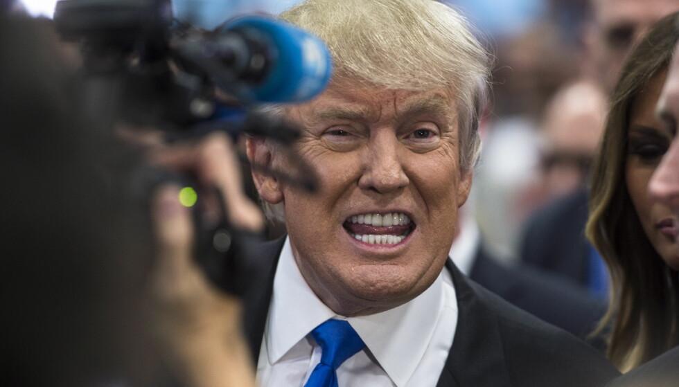IKKE BEKREFTET: Ifølge flere amerikanske medier, skal Russland sitte på kompromitterende informasjon om Donald Trump. Nå florerer flere uverifiserte påstander. Foto: Øistein Norum Monsen / Dagbladet