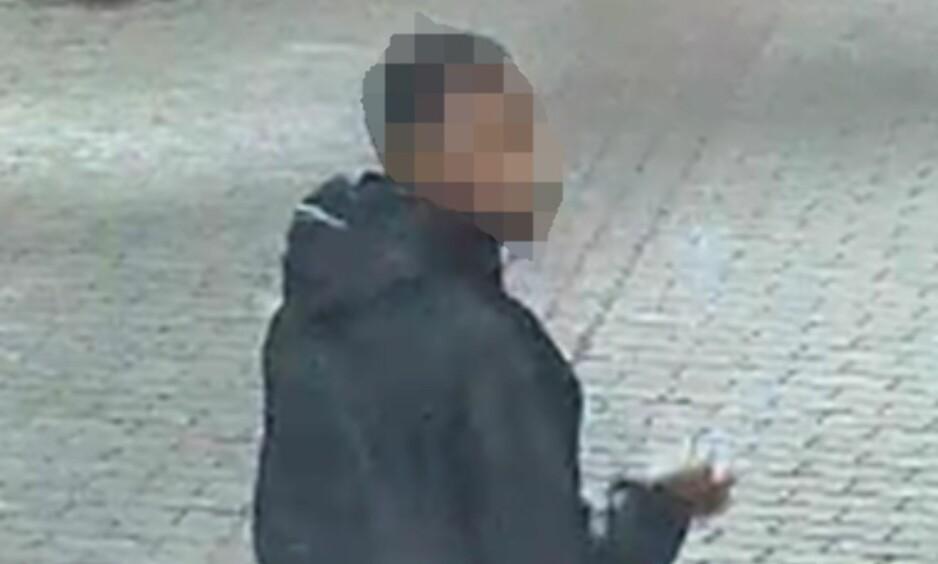 OVERVPKINGSKAMERA: En mann i 20-åra, mistenkt for et kioskran i Oslo, er pågrepet i Stavanger. Foto: Politiet