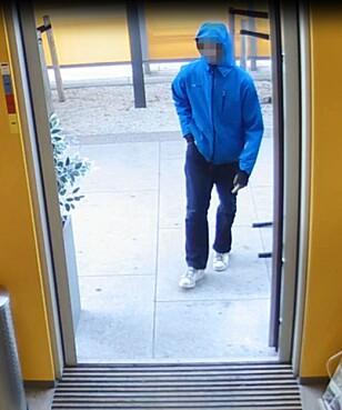 TATT: Mann i 20-åra er pågrepet, mistenkt for et kiosran i Oslo. Foto: Politiet