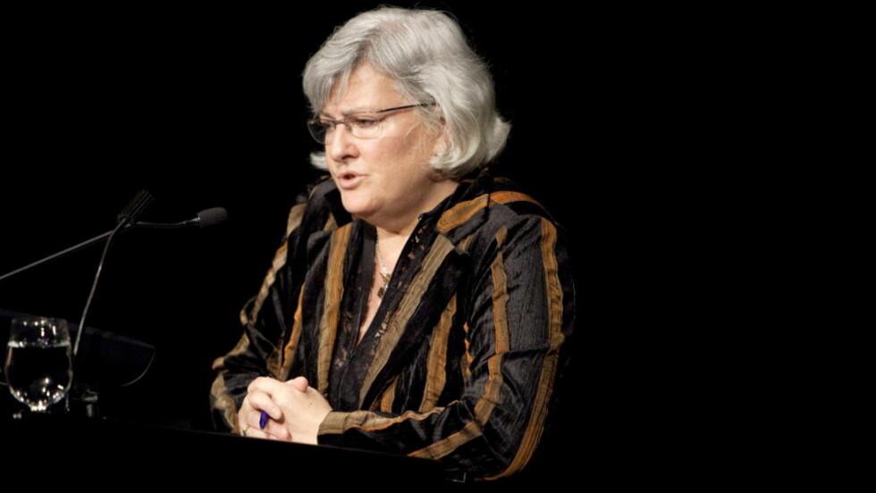 SLÅR TILBAKE: Nina karin Monsen svarer Bård Nylund i LHH. Onani i enhver form er unødvendig å lovregulere, skriver hun. Foto: Espen Røst