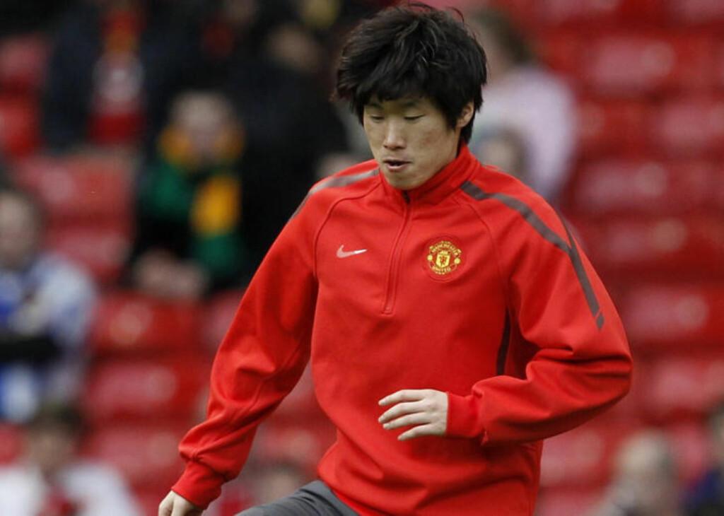 KOREANSK UNITED-SPILLER: Liverpools hovedsponsor er misunnelig på Uniteds som har Park Ji-Sung i stallen. Foto: REUTERS/Phil Noble