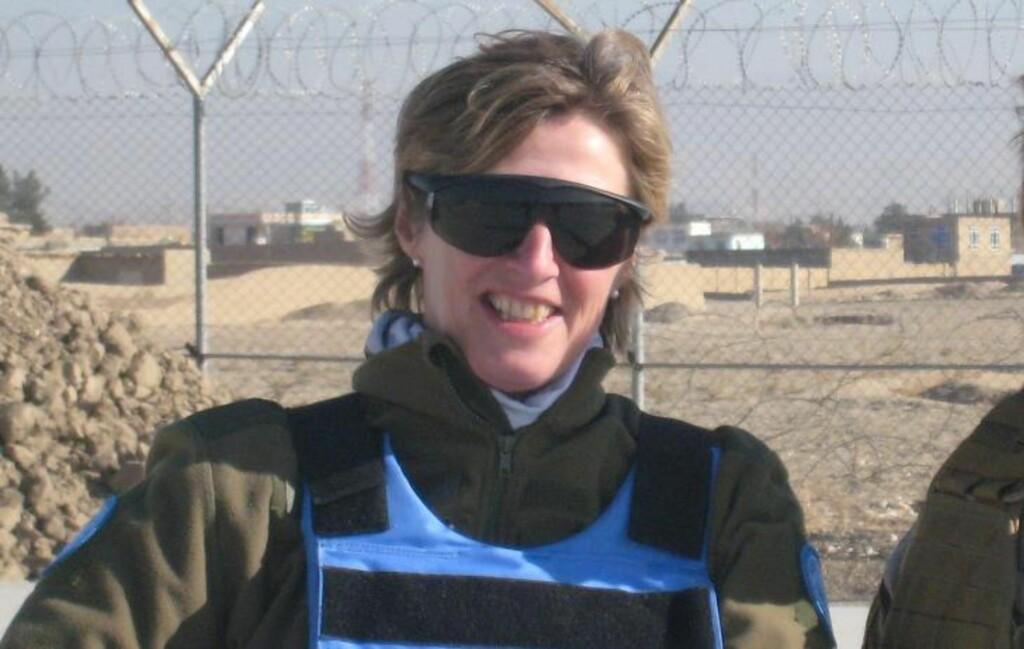 DREPT:  Arkivbilde av oberstløytnant Siri Skare som ble drept i Mazer-e Sharif i Afghanistan fredag. Foto: Privat/Forsvaret / Scanpix
