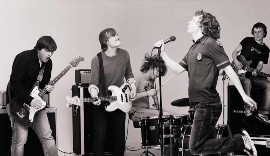 Rumble in Rhodos: Det er bare å gi seg hen til Follo-bandets tredje album. Foto: Promo