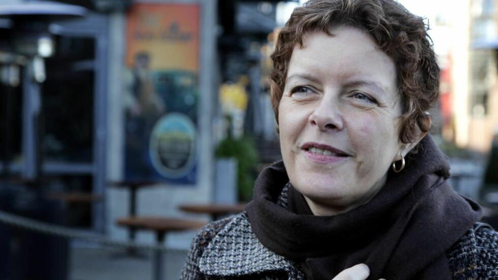 LETT BLANDING: Jorun Thørring har skrevet flere kriminalromaner for voksne. Nå står barna for tur. Foto: TOM E. ØSTHUUS, Dagbladet