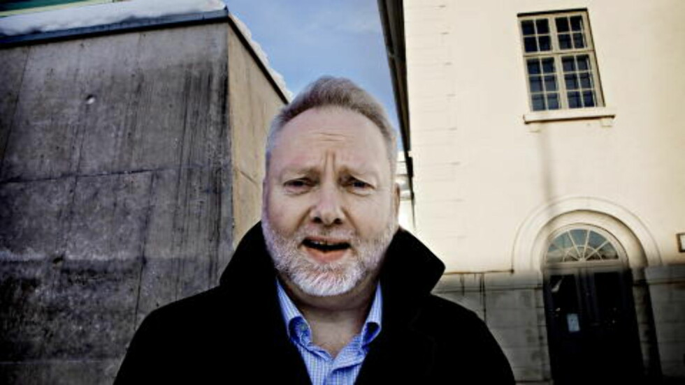 I PANELET:  Riksantikvar Jørn Holme. Foto: Lars Eivind Bones