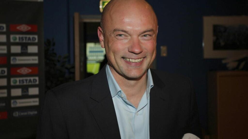 JOBBJAKT: Uwe Rösler flyttet til Manchester da vikariatet i Molde var over. Tyskeren ønsker å bli manager i en engelsk klubb. Foto: Svein Ove Ekornesvåg / Scanpix