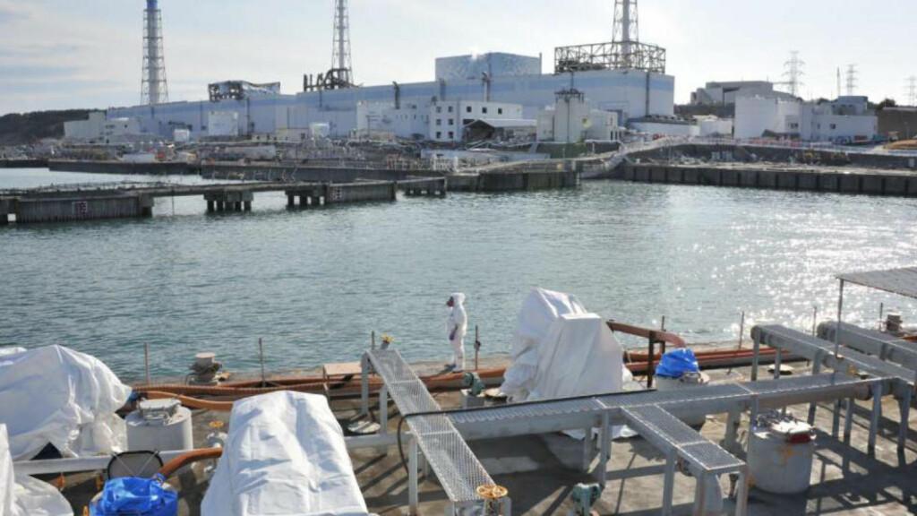 STORE ØDELEGGELSER: Byen ligger 300 kilometer sør for Fukushima (bildet), der en atomreaktor ble ødelagt i forbindelse med jordskjelvet og tsunamien i forrige måned. Foto: Reuters / Japan Maritime / Scanpix