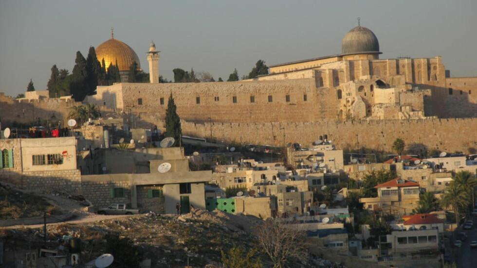 JERUSALEM: Muhammeds nattlige utflukt til Jerusalem har fått storpolitiske følger, ettersom byen i islamsk tradisjon betraktes som den tredje helligste etter Mekka og Medina. ?Foto: Torgeir Larsen