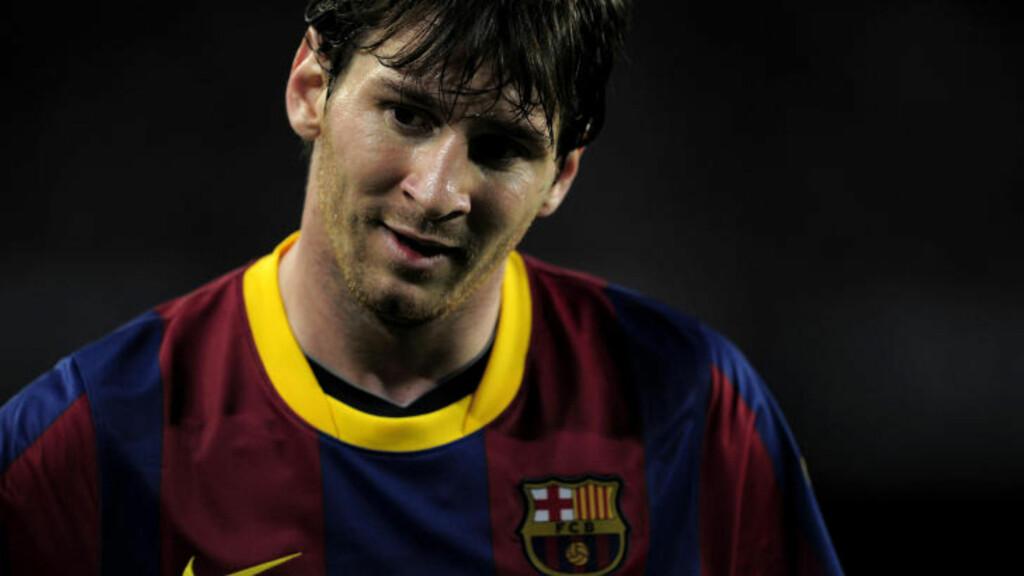 Huset til den argentinske fotballstjernen Lionel Messis eldre bror var et av tre som ble pepret med kuler i helgen. Foto: AFP PHOTO/ JOSEP LAGO / SCANPIX