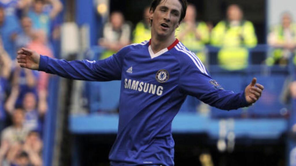 MISSET STORE SJANSER: Fernando Torres kom inn som reserve og brente flere sjanser mot Wigan. Foto: AP/Tom Hevezi