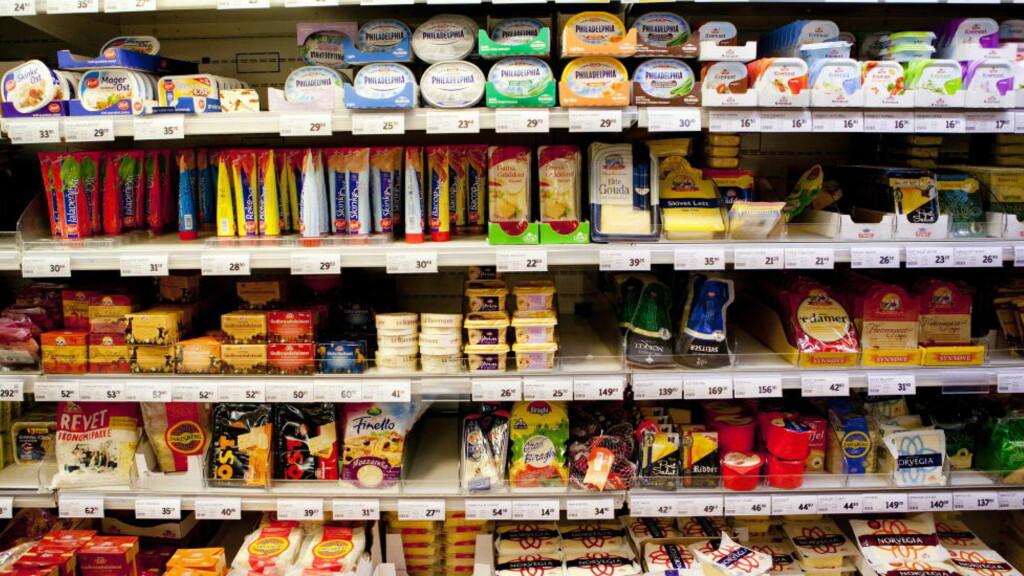 MAKT PÅ BEKOSTNING: De store matkjedenes makt går på bekostning av leverandørene, sier matkjedeutvalget. Foto: Tore Meek / Scanpix