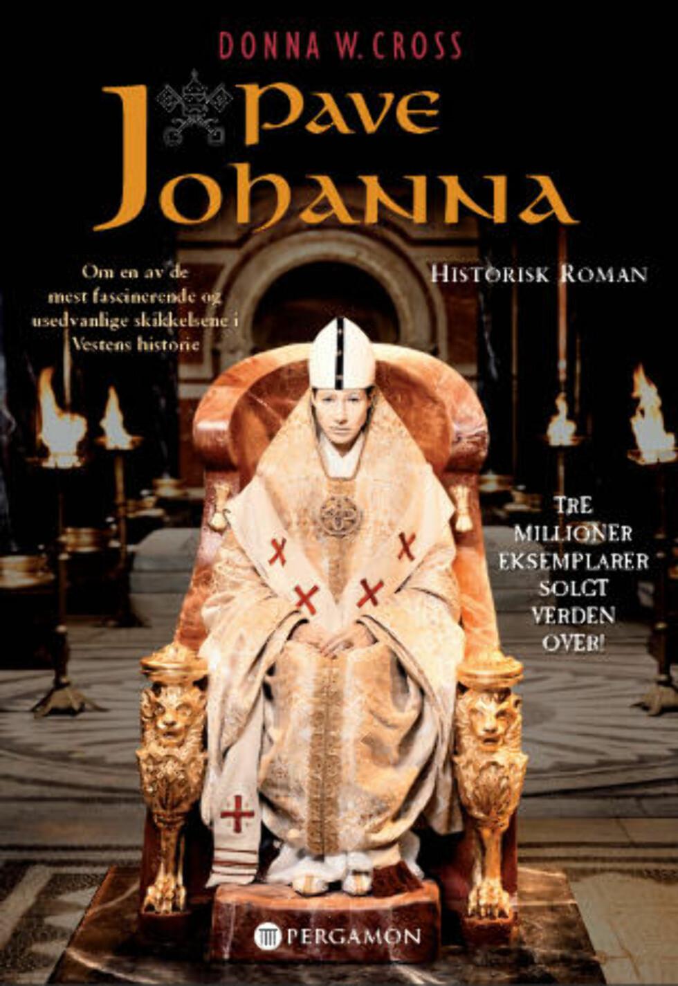 Satt en kvinne som pave i den mørke middelalder?