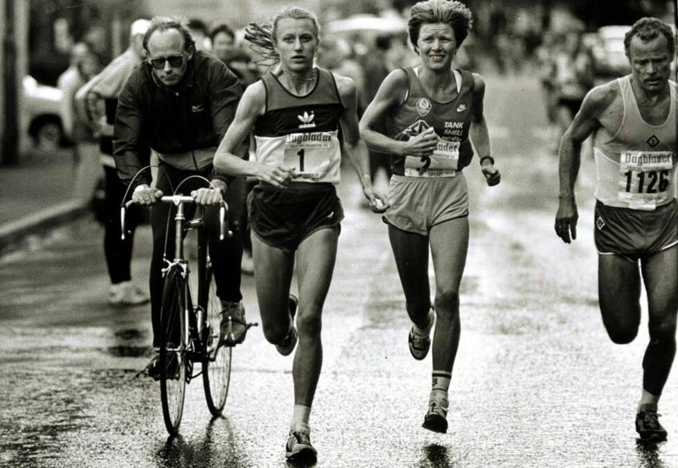VERDENS BESTE: Grete  Waitz og Ingrid Kristiansen var Norge enere i langdistanseløping. Foto William Mikkelsen /Dagbladet