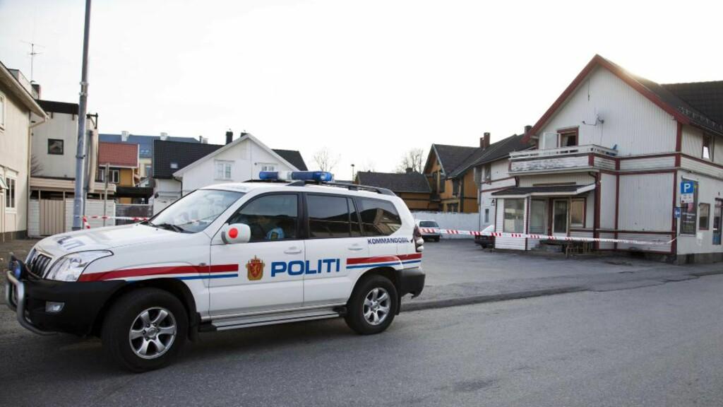 SKUDDRAMA:  Politiet antar at masseslagsmålet i Skien var en hevnaksjon etter et slagsmål i Langesund lørdag.Foto: Per Flåthe/Dagbladet