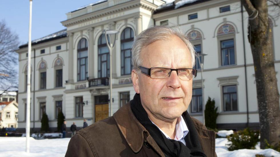 - GJENTAKENDE PROBLEM: Ordfører i Porsgrunn kommune Øystein Beyer. Foto: Torbjørn Berg / Dagbladet