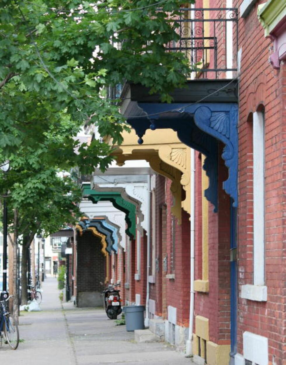 LILLE PORTUGAL: Montreals Little Portugal der Leonard Cohen har huset sitt.