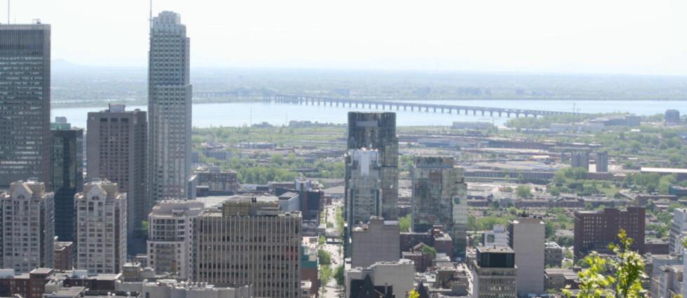 GAMMELT OG NYTT: Montreal sett fra Mont Royal. Alle foto: TONE VASSBØ