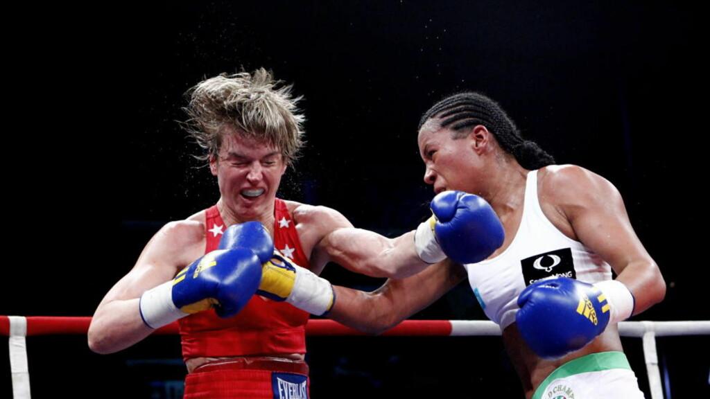 IKKE LOV: Cecilia Brækhus må fortsatt bokse i utlandet. Proffboksingforbudet ble opprettholdt i dag, men støtten for forbudet har aldri vært svakere.  Foto: Kyrre Lien / Scanpix