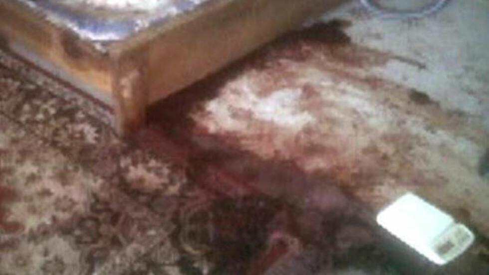 FØRSTE BILDER INNENFRA: ABC News publiserte bilder og en eksklusiv video fra rommet der Osama 'Bin Laden ble skutt. Foto: Reuters / Scanpix