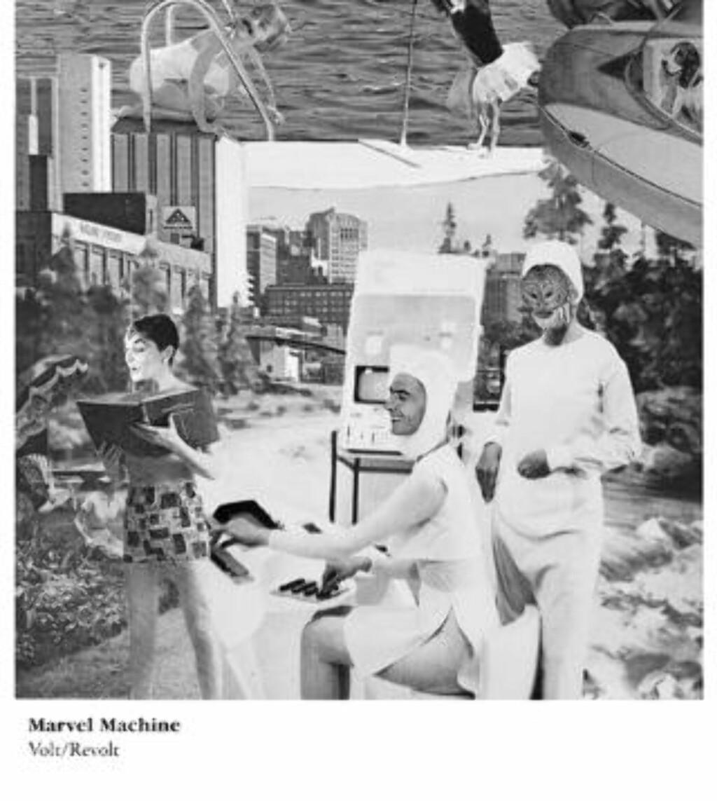 MARVEL MACHINE: Fra Jazzlinja med elektronisk improstøy  og soniske utblåsninger.