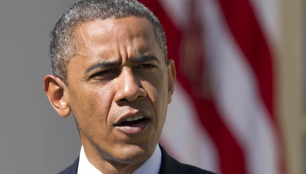 BRYTER FORHANDLINGER: USA og president Barack Obama bryter Syria-forhandlingene med Russland. Foto: AP Photo/Manuel Balce Ceneta, File)