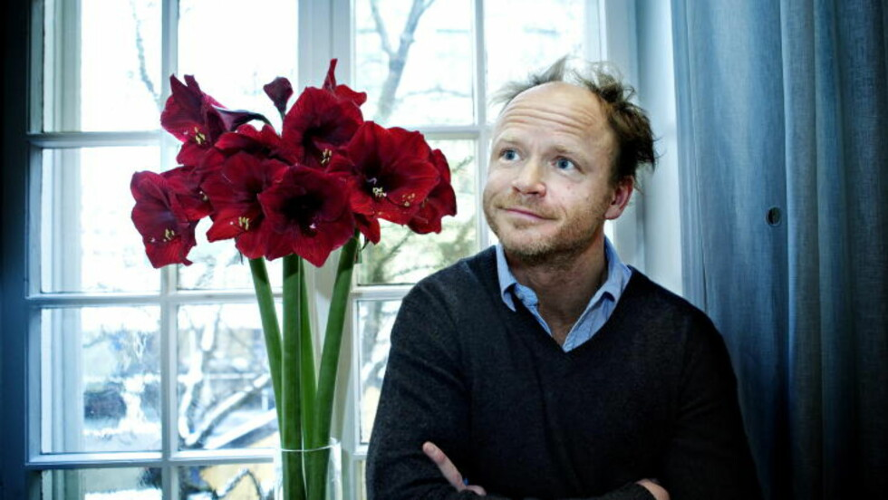 HAR SKREVET DIKT: Harald Eia har to dikt i jubileumsutgaven av «Dikt for gutta».   Foto: Nina Hansen / Dagbladet