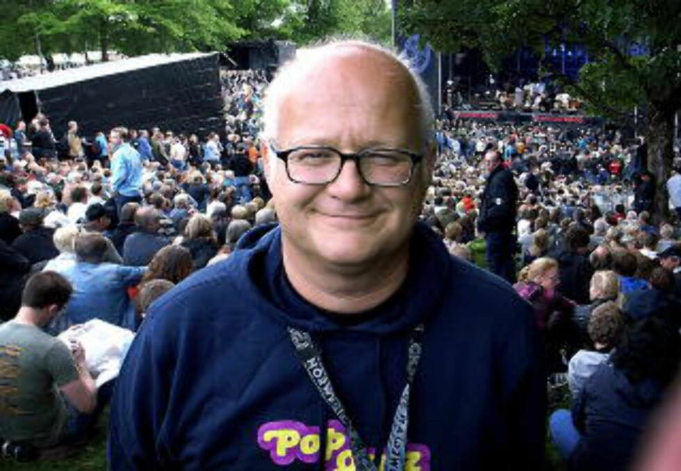 POSITIV:Programleder Finn Bjelke mener også nyhetsavdelingen må være villige til å endre seg. Foto: Anders Grønneberg / Dagbladet