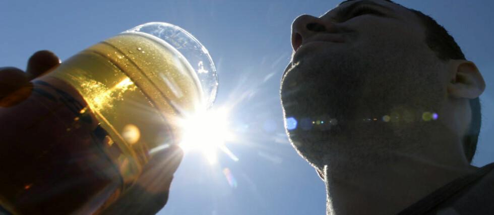 ØL MED GOD SAMVITTIGHET: Alkoholinntak og trening er mye omdiskutert. Ny forskning viser at moderat alkoholinntak ikke nødvendigvis ødelegger restitusjonsprossen.  Foto: SCANPIX