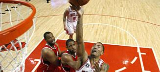 Chicago Bulls en seier unna finaleplass