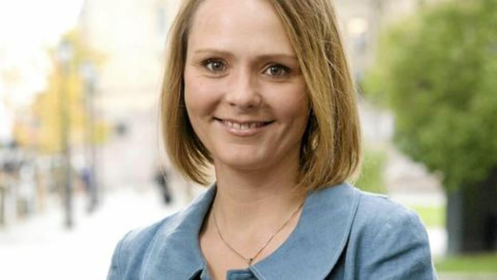 MOT KVOTEN: Linda Hofstad Helleland er stortingsrepresentant fra Sør-Trøndelag og familiepolitisk talskvinne for Høyre. Foto:tomas@icu.no