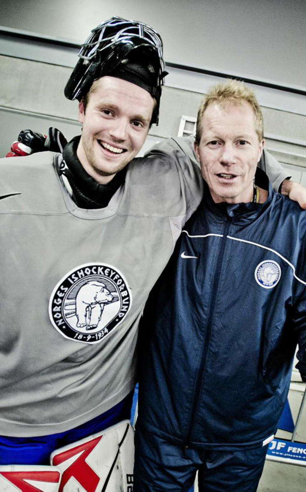 FORTJENER BEDRE: Landslagssjef Roy Johansen mener altfor mange unge norske keepere lider samme skjebne som Lars Haugen. Foto: Thomas Rasmus Skaug / Dagbladet
