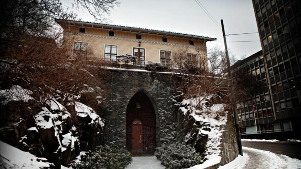 FÅR NYE BEBOERE: Grotten i Wergelandsveien har vært komponist Arne Nordheim og hans kones bolig siden 80-tallet. I dag får vi vite hvem som blir den neste.  Foto: Lars Eivind Bones / Dagbladet