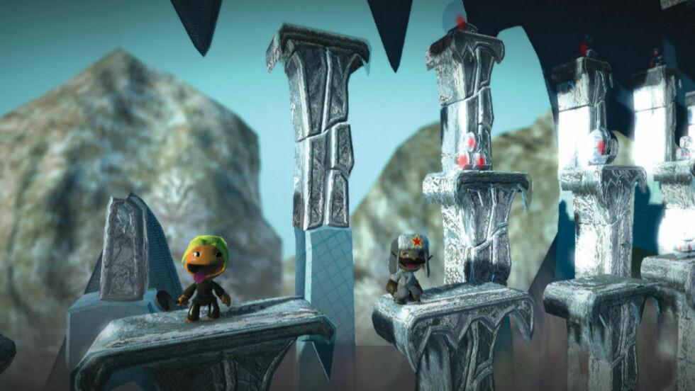 GAMLE SPILL: LittleBigPlanet er blant spillene Sony tilbyr til sine PS3-spillere etter hackerskandalen. Foto: Sony