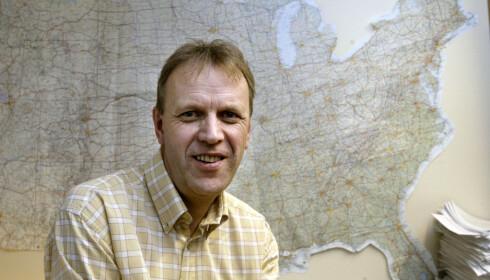 ØDELEGGENDE: Svein Melby tror begeret er fullt for amerikanerne nå. Foto: Bjørn Sigurdsøn / SCANPIX