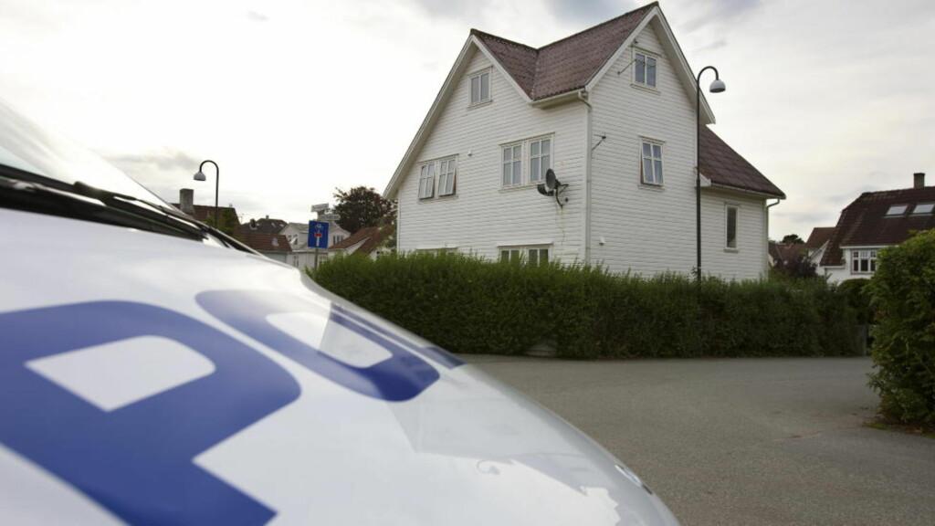 TORTURERT: I dette huset på Kampen i Stavanger ble Risvik holdt fanget, i leiligheten han delte med to av de tiltalte. Foto: Alf Ove Hansen